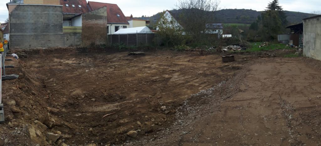 Das leere Grundstück